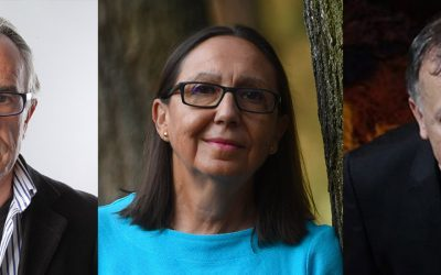Mari Luz Congosto+ Mario García de Castro +Carlos Alberto Scolari